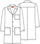 "Cherokee Uniforms 83403A 40"" Unisex Lab Coat"