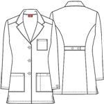 "Cherokee Uniforms 84400A 32"" Lab Coat"