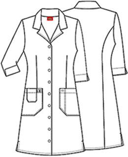 Cherokee Uniforms 84503 Button Front Dress