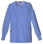 Cherokee Uniforms 885306 Snap Front Warm-Up Jacket