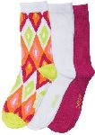 Cherokee Uniforms ARTECO 1-3pr pack of Crew Socks