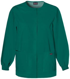Cherokee Uniforms 4350 Snap Front Warm-Up Jacket