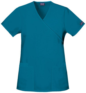 Cherokee Uniforms 4801 Mock Wrap Tunic