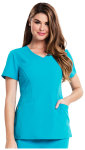 "Cherokee Uniforms CA601 ""Sofia"" V-Neck Top"
