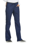 Cherokee Uniforms CK003 Mid Rise Straight Leg Pull-on Pant