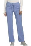 Cherokee Uniforms CK100A Mid Rise Tapered Leg Drawstring Pants