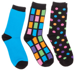 Cherokee Uniforms COSMIC 1-3pr pk Crew Sock