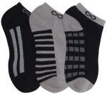 Cherokee Uniforms DASH 1-3pr pack of No Show Socks