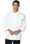 Cherokee Uniforms DC43 Unisex Classic Knot Button Chef Coat
