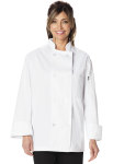 Cherokee Uniforms DC45 Unisex Classic 8 Button Chef Coat