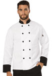 Cherokee Uniforms DC46 Unisex Classic 10 Button Chef Coat