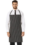 Cherokee Uniforms DC54 Set Strap, No Pocket Bib Apron