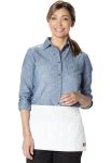 Cherokee Uniforms DC56BC06 3 Pocket Server Waist Apron - 6 pc pack