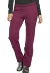 Cherokee Uniforms DK120 Mid Rise Straight Leg Pull-on Pant