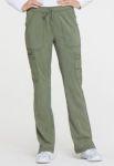 Cherokee Uniforms DK170 Mid Rise Boot Cut Drawstring Pant