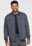 Cherokee Uniforms DK315 Men's Zip Front Moto Jacket