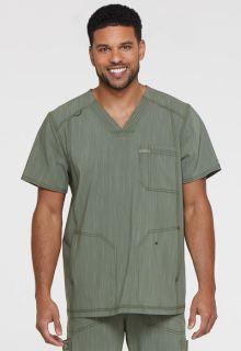 Cherokee Uniforms DK695 Men's V-Neck 3 Pocket Top