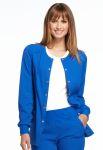 Cherokee Uniforms EL300 Snap Front Warm-up Jacket