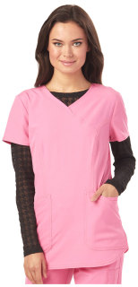 "Cherokee Uniforms HS612 ""Heart On Her Sleeve"" Underscrub Tee"