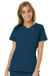 "Cherokee Uniforms HS660 ""Love 2 Love U"" V-Neck Top"