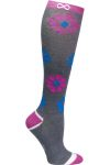 Cherokee Uniforms KICKSTART 1 Pair Pack 15-20 mmHg Support Socks