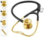 Cherokee Uniforms MDF797DD MDF ER Premier Stethoscope Gold Edition