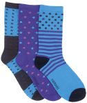 Cherokee Uniforms MIDNIGHTMAGIC 1-3pr pack of Crew Socks