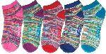 Cherokee Uniforms MISSONI **NEW** 6-5pr packs of No Show Socks
