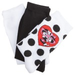 Cherokee Uniforms SPOTTYDOTTY 1-3pr bundle Anklet Socks