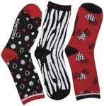 Cherokee Uniforms THENEWCLASSIC 1-3pr pk of Crew Socks