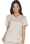 Cherokee Uniforms WW640 Mock Wrap Top