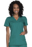 Cherokee Uniforms WW650 Mock Wrap Top