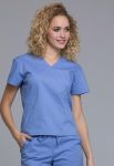 Cherokee Uniforms WW705 Mock Wrap Top