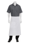 Chef Works A601, White Cord Bistro Apron