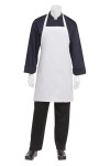 Chef Works APKDC White Bib Apron