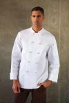 Chef Works CBCC Colmar Basic Chef Coat