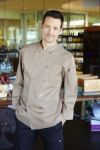 Chef Works CCBA-KHA, Cyprus Khaki Basic Chef Coat
