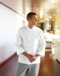Chef Works PKWC, Bordeaux Basic Chef Coat