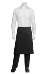 Chef Works REVF24 Reversible Black Bistro Apron