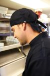 Chef Works SCBL, Black Head Wrap