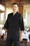 Chef Works SUBK, Black Sushi Coat