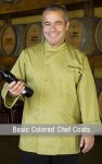 Basic Colored Chef Coats