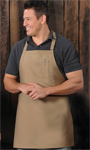 Pencil Pocket Bib Apron