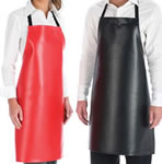X-Large No Pocket Vinyl Bib Apron