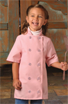 Child Short Sleeve Chef Coat