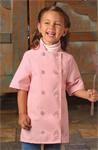 Child Short Sleeve Chef Coat