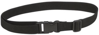 DA 153 Black Webbing Belt with Fast Click Feature
