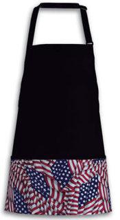 DA FG200 American Flag Three Pocket Bib
