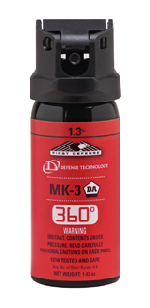 Defense Technology 56833 First Defense® MK-3 1.3% Stream 360°