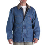 Dickies Industrial 77293 Denim Zip Front Chore Coat